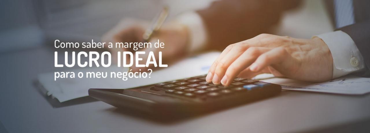 [Como saber a margem de lucro ideal para o meu negócio?]